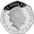 2020 Brexit 50p Silver Proof